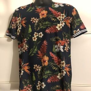 Zara Mens Collection Floral T-Shirt